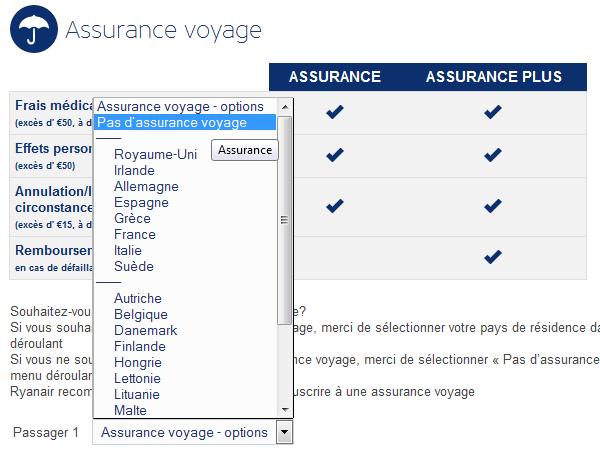 ryanair-assurance-voyage